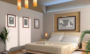 Schlafzimmer im Feng Shui Stil