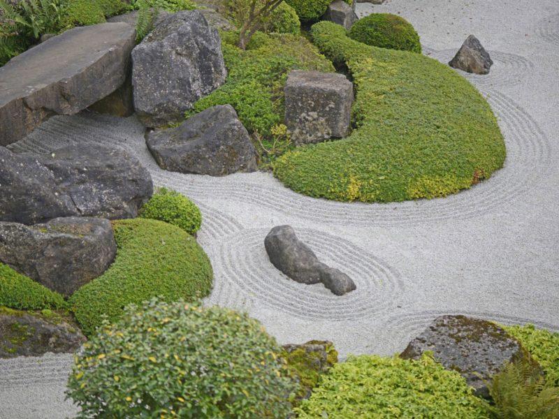zengarten kreative Gestaltungsideen