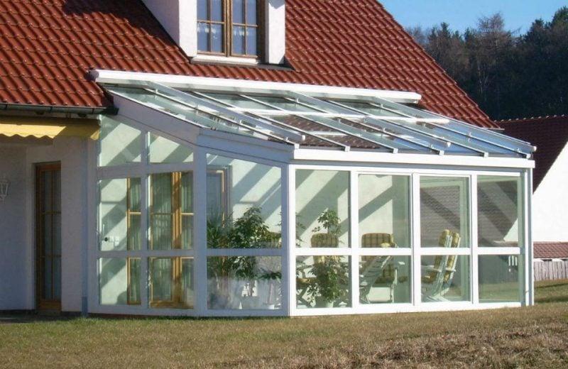Glasdach Terrasse
