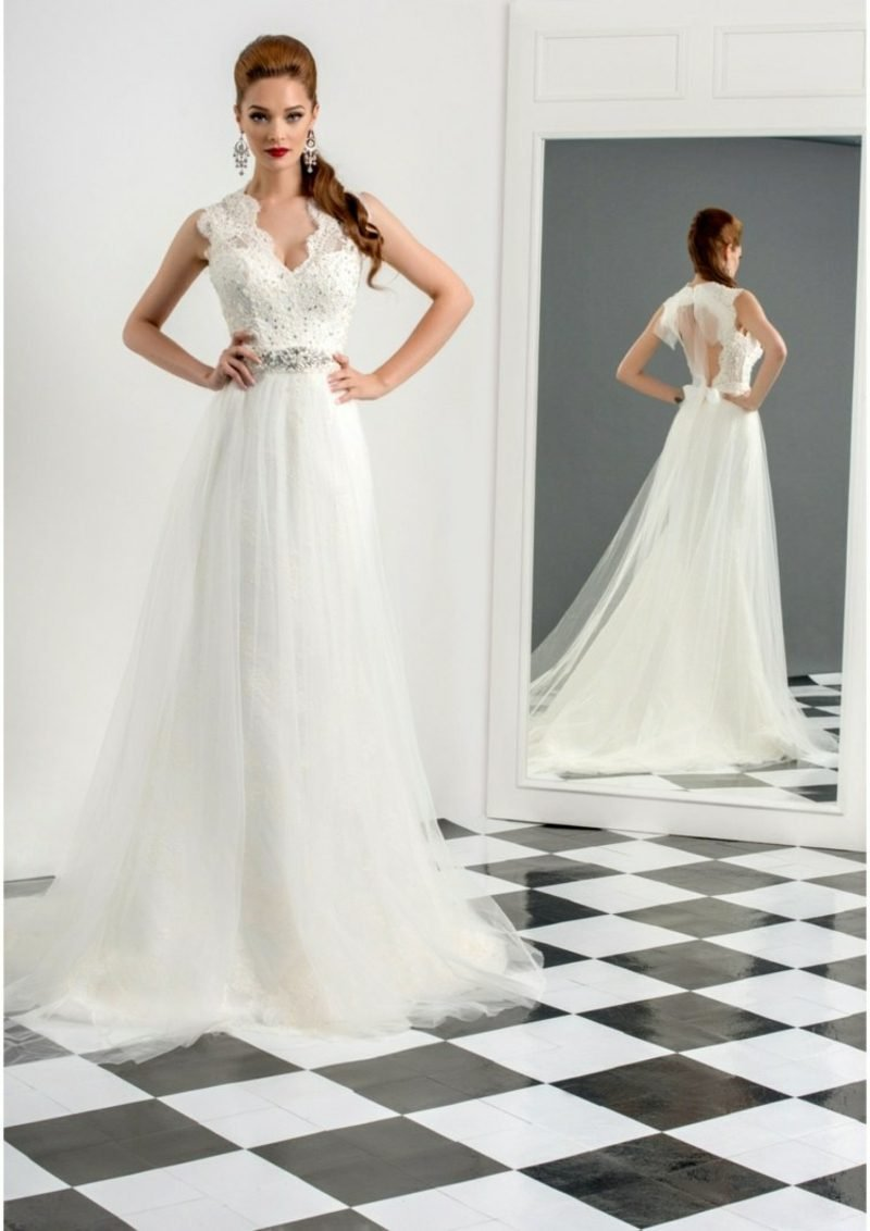elegantes Brautkleid