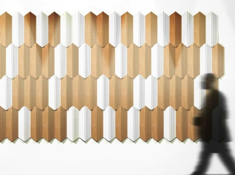Akustikplatten aus Holz