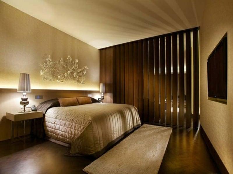 modernes luxus hotelschlafzimmer