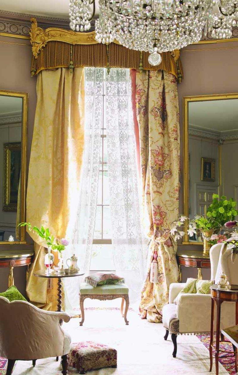 Wohnzimmergestaltung im Barock Stil
