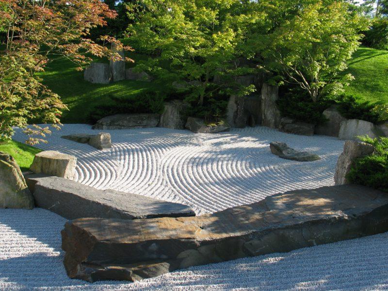 japanischer Zengarten Gestaltungsideen