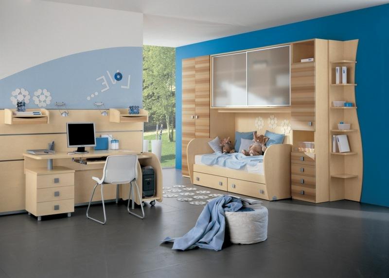 blaues Jungenzimmer