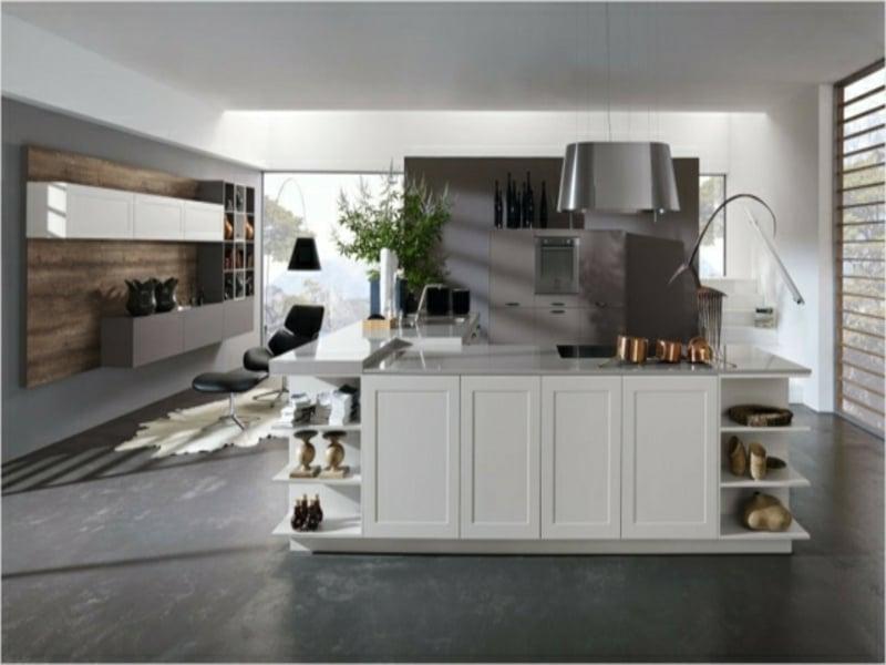 granitarbeitsfläche auf der kücheninsel