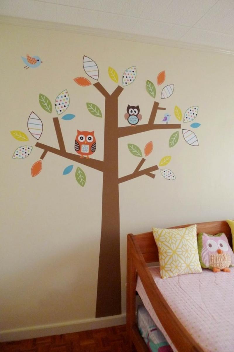 das Kinderzimmer mit Schablonen dekorieren