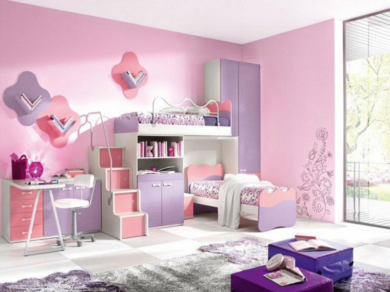 rosa farbe im mädchenzimmer
