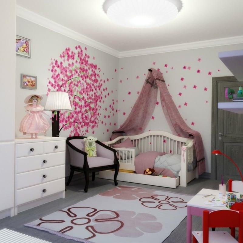 Mädchenzimmer Einrichtung