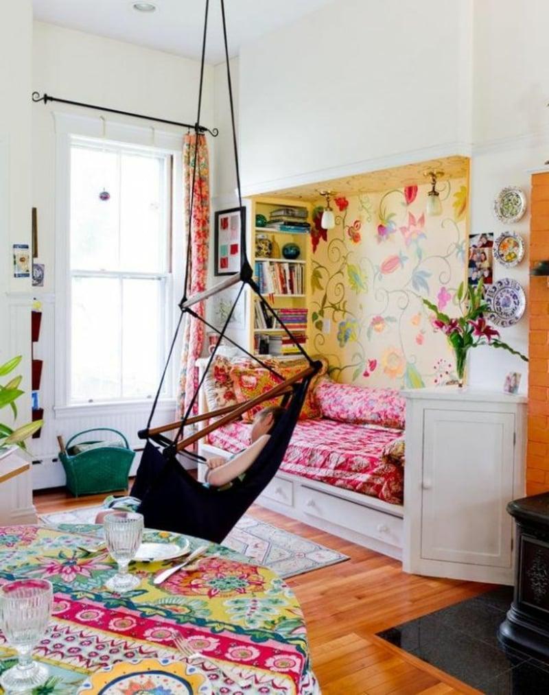 Wandmalerei Kinderzimmerdesign