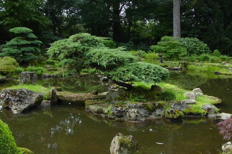 Zengarten als Oase der Ruhe und Entspannung