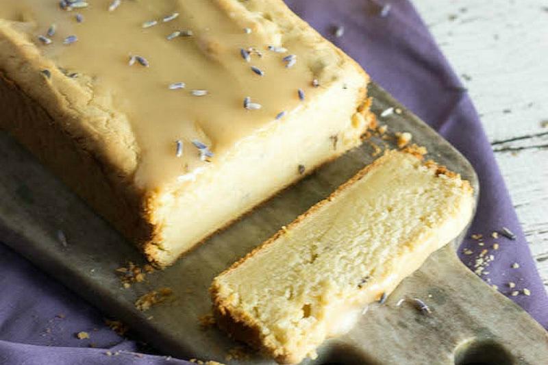 Lemon and Lavender Yogurt Cake vegane torten