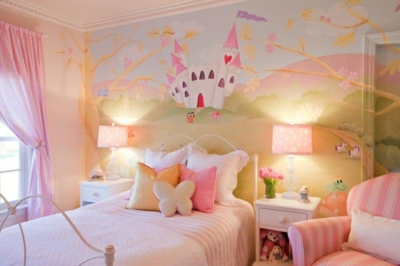 Kinderzimmergestaltung Mädchenzimmer
