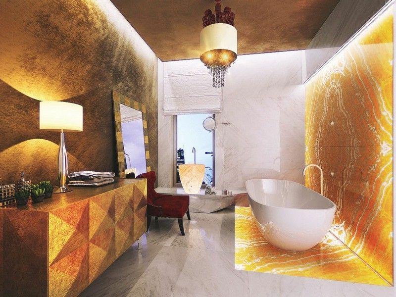 ultramoderne marmorfliesen im bad