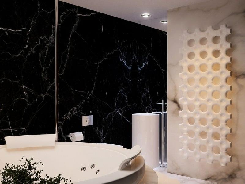 extravagante beige marmorfliesen
