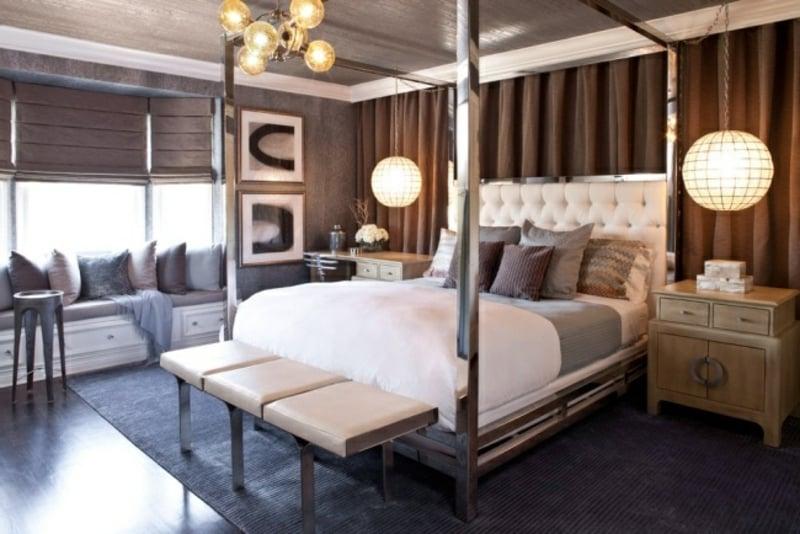 Verkleidung der Decke Schlafzimmer