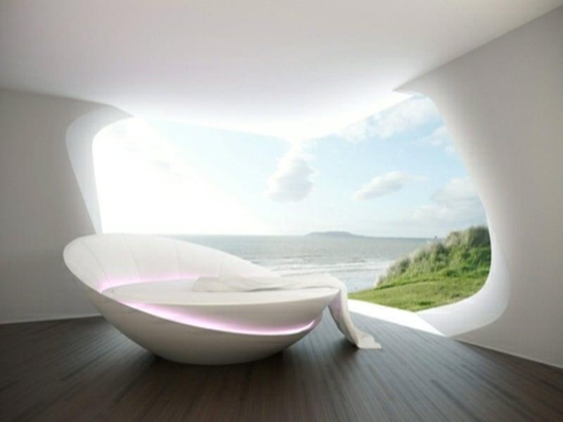 desgner luxus schlafzimmer mit moderner einrichtung