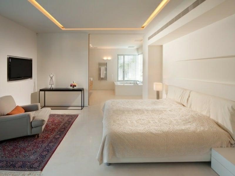 led indidrekte beleuchtung im schlafzimmer