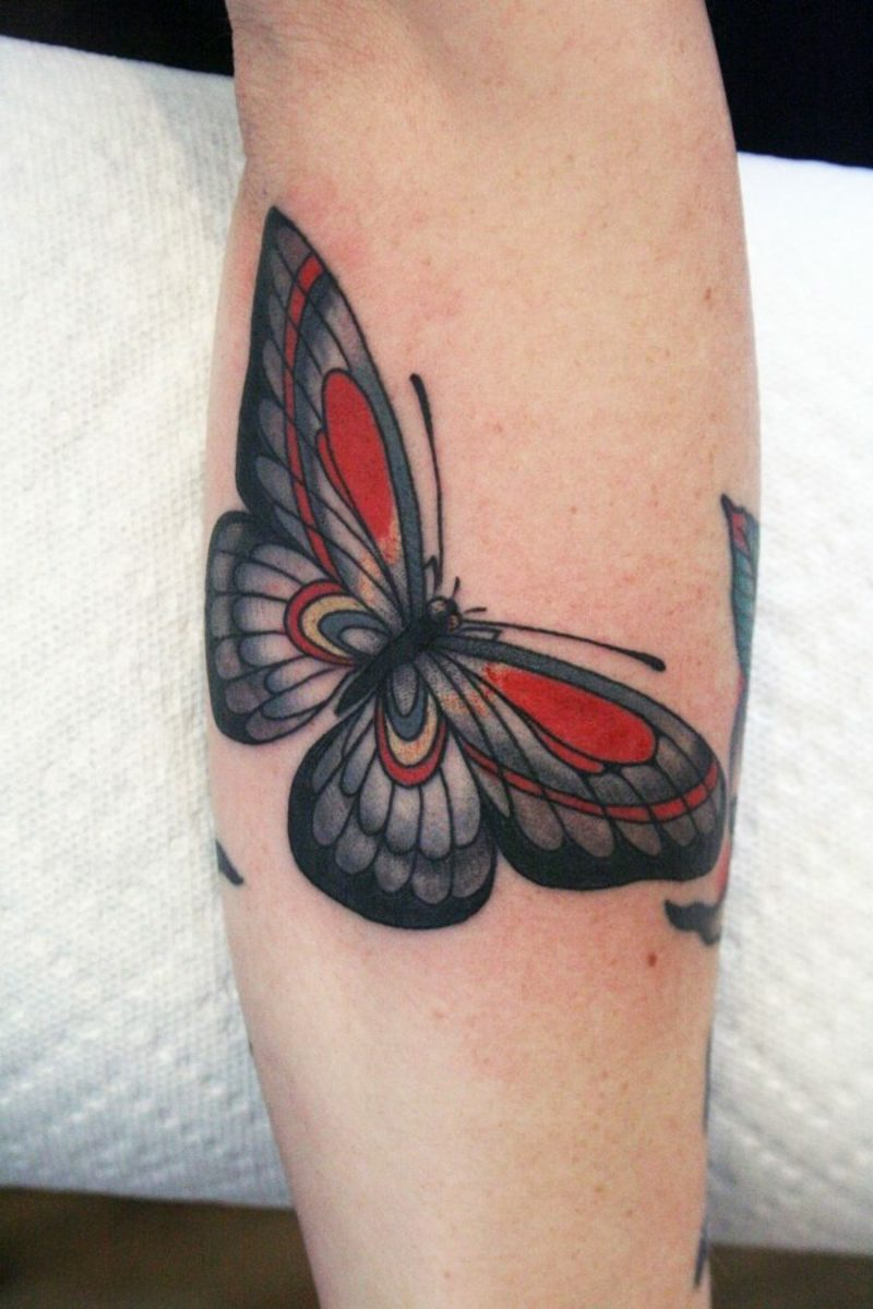 grosses Schmetterling Tattoo