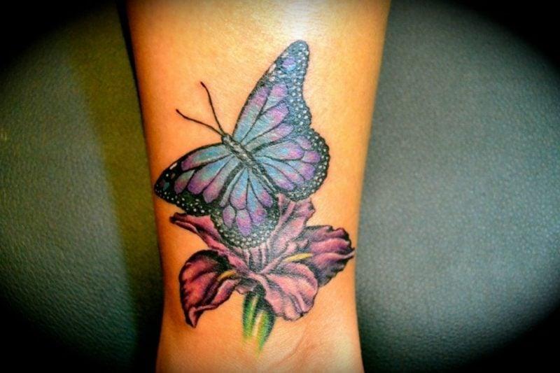 25 interessante ideen f r schmetterling tattoo. Black Bedroom Furniture Sets. Home Design Ideas