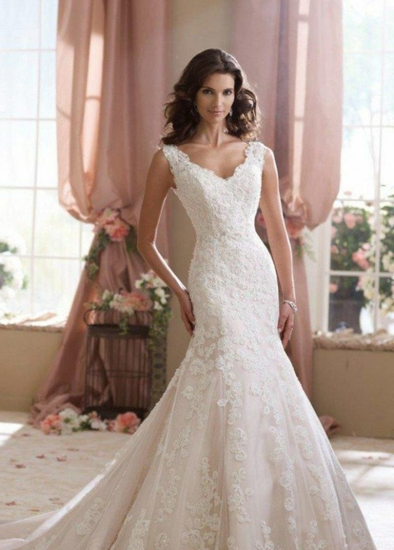 Spitzen Brautmode