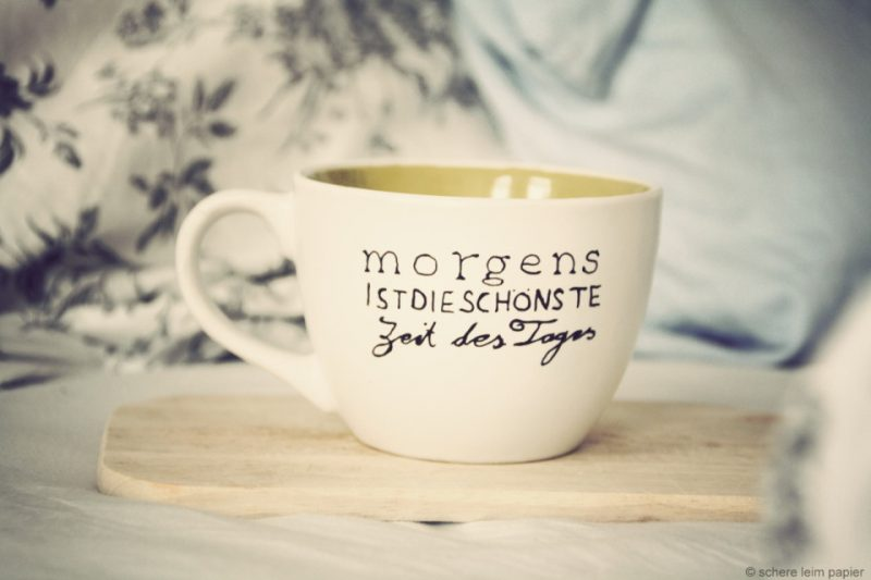 originelle Kaffeetasse