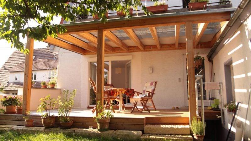 Glasdach terrasse welche vorteile gibt es for Gestaltung garten terrasse