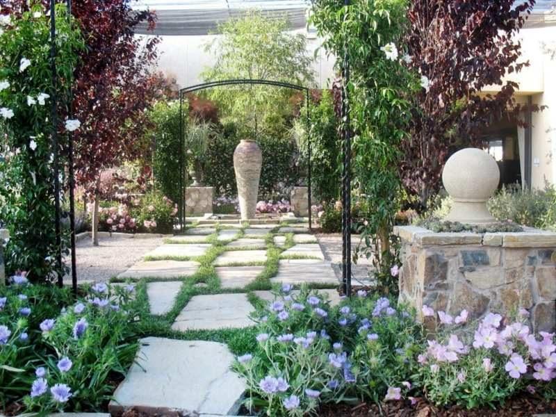 kreative Terrassenbepflanzung