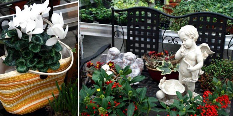 Terrassenbepflanzung kreative Ideen