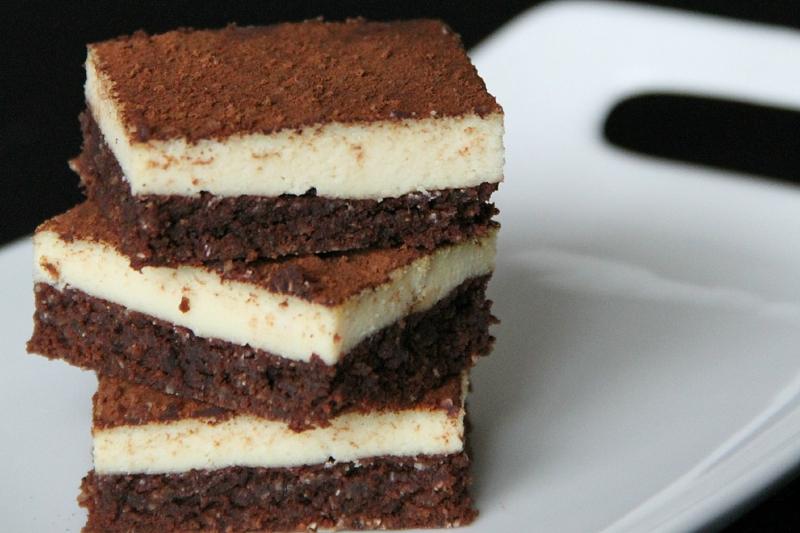 Tiramisu Brownies vegane torten