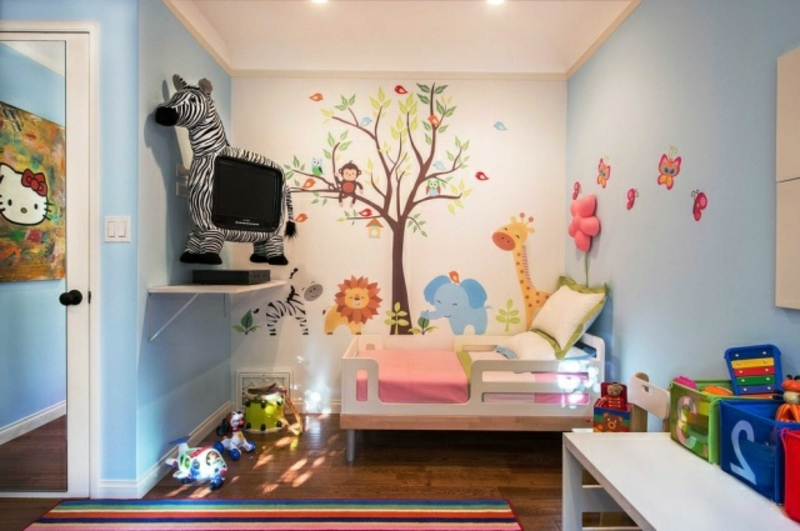 30 ideen zur gelungenen kinderzimmergestaltung. Black Bedroom Furniture Sets. Home Design Ideas