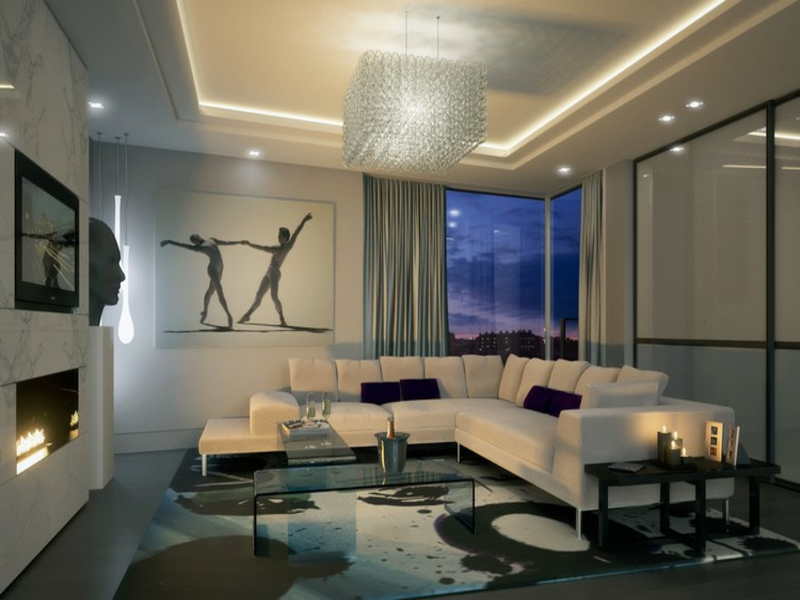 Lampen Und Wohnzimmereinrichtungen