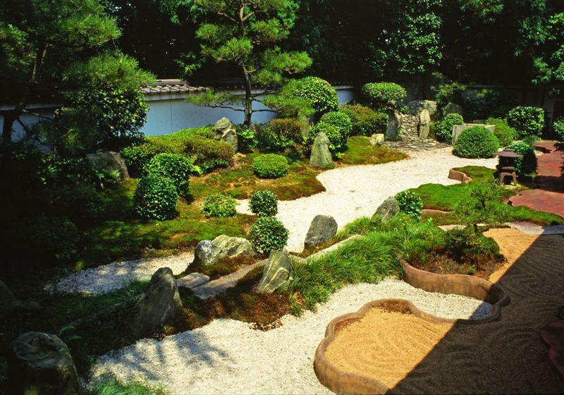 japanischer Steingarten Gestaltung