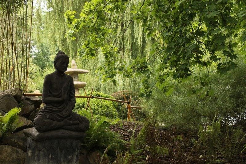 traditioneller Garten Japan
