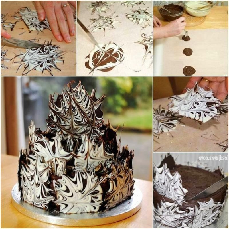 Ausgefallene Torten Schokolade
