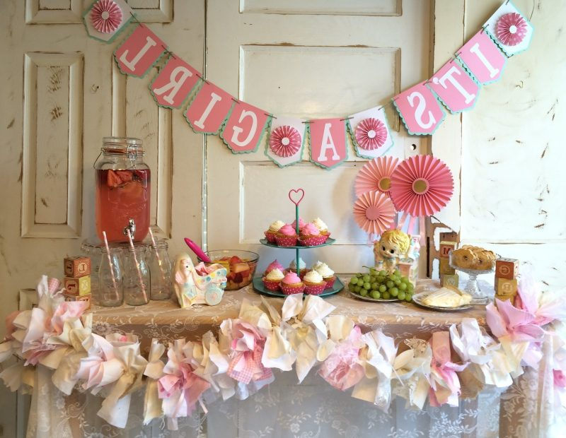 20 tolle ideen f r selbstgemachte babyparty deko deko - Baby shower party ideen ...