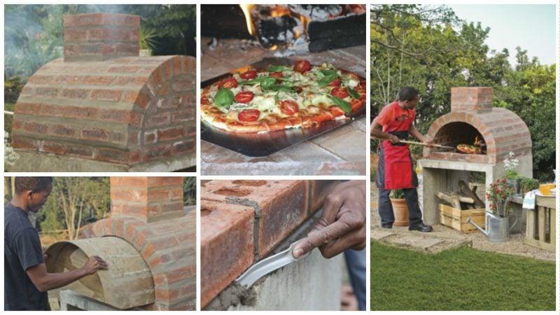 Backofen selber machen Pizzaofen Anleitung