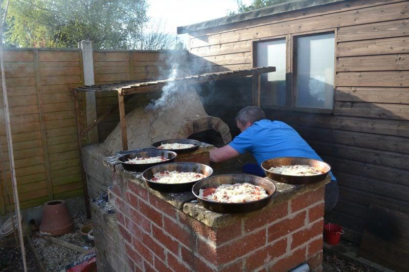 Backofen selber machen Pizza