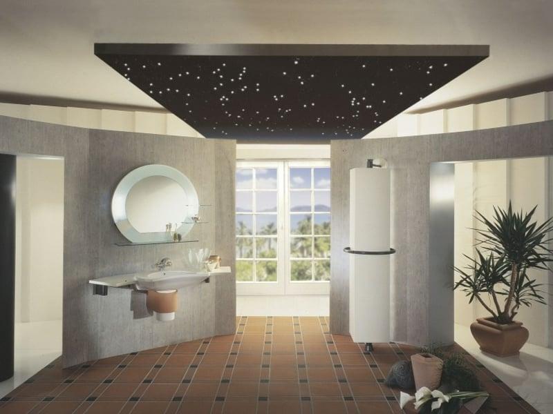 auffällige dekrative badbeleuchtung