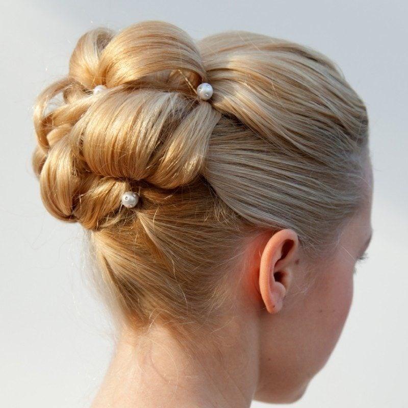 ballfrisuren blond