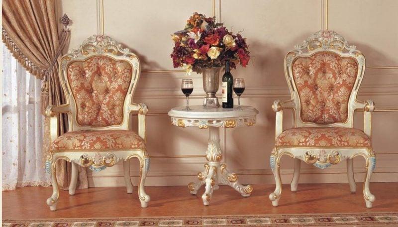 Barockmöbel Sessel Design
