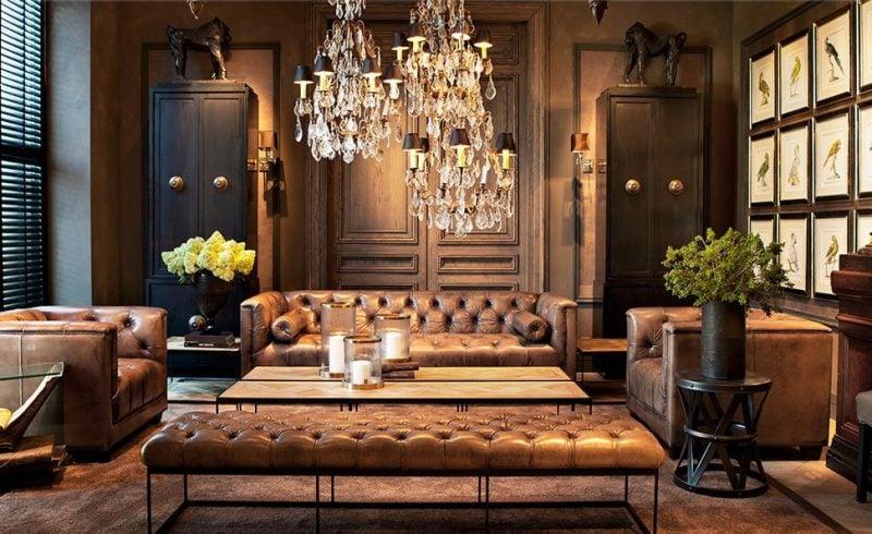 Barockmöbel Einrichtung Wohnzimmer
