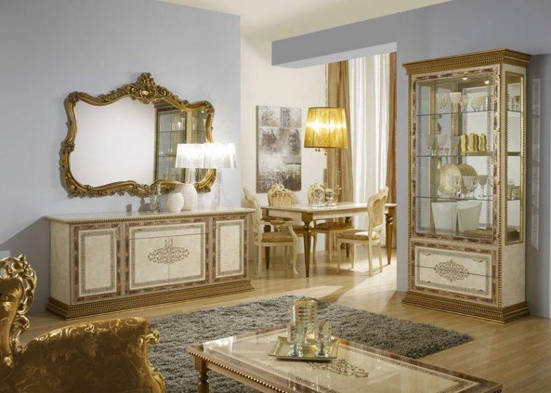 Barockmöbel Esszimmer Gold