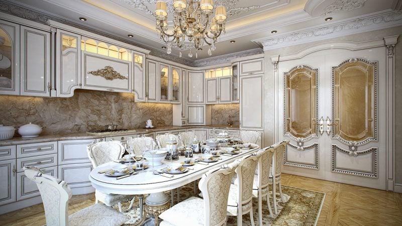 Barockmöbel Esszimmer Küche