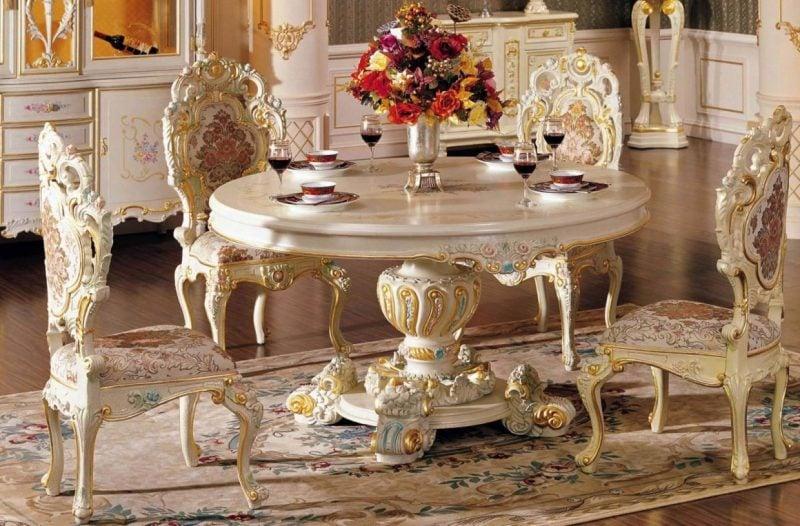 Barockmöbel Ornamente
