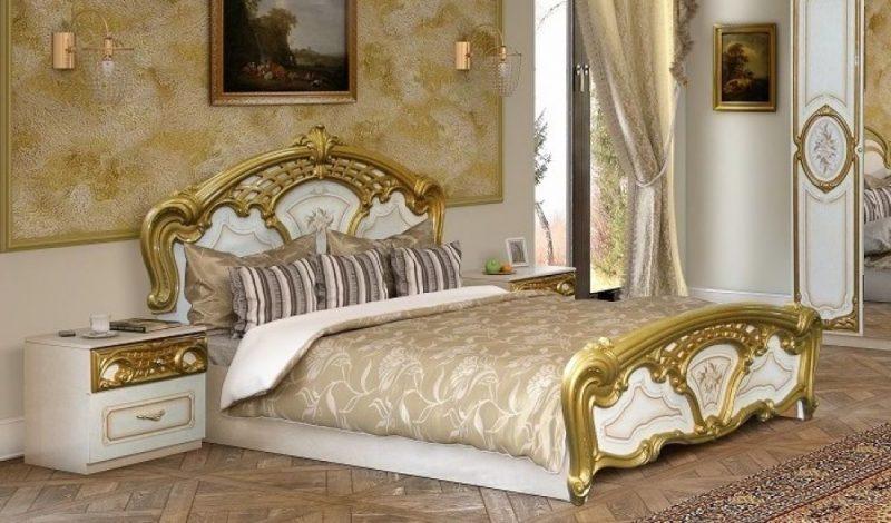 Barockmöbel Gold Farbe