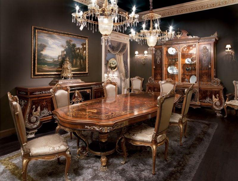Barockmöbel Holztisch