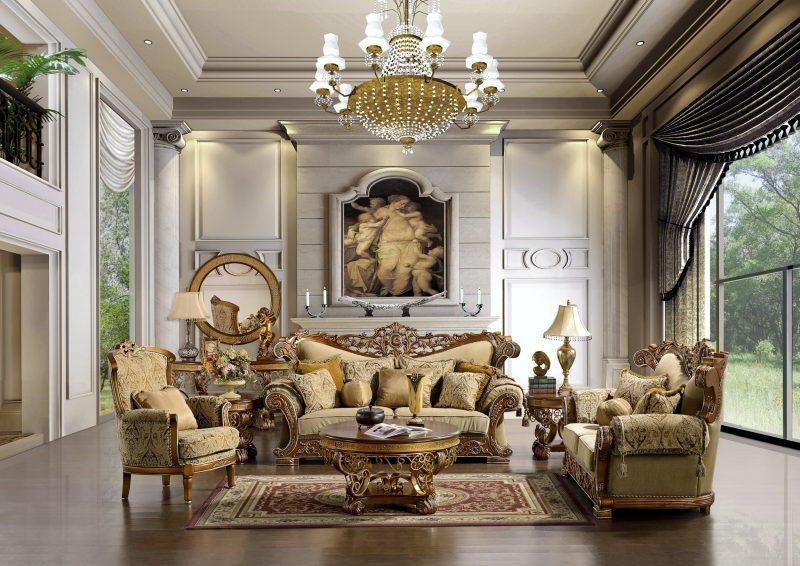 Barockmöbel Wohnzimmer Gestaltung
