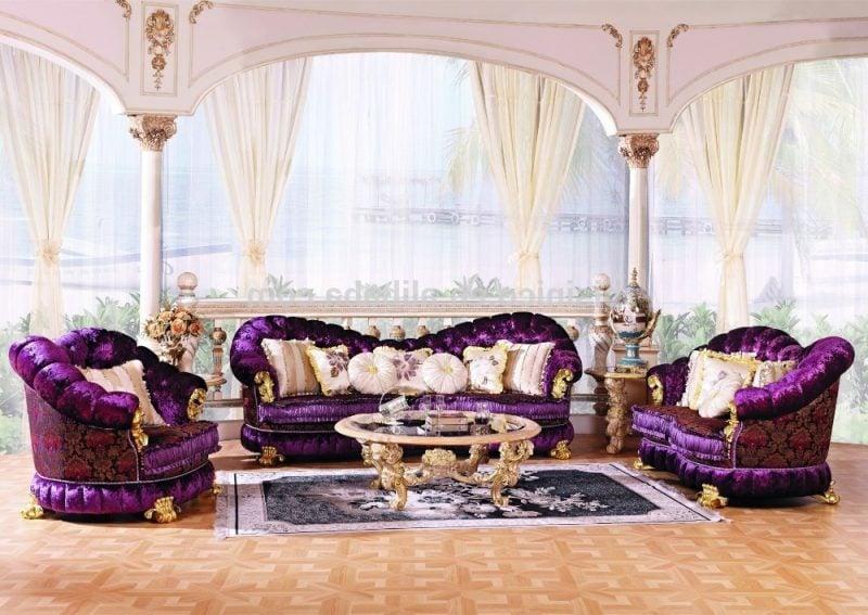 Barockmöbel Wohnzimmer Design