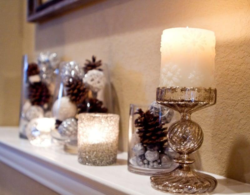 Basteln mit tannenzapfen 50 diy ideen deko feiern - Weihnachtsdeko mit tannenzapfen ...